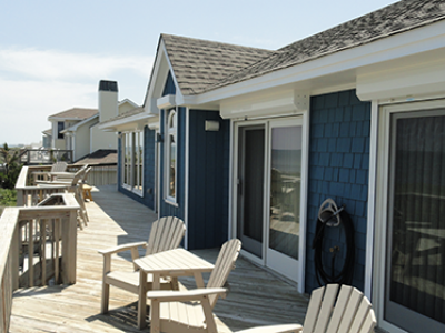 Roll-Down Shutters on Outer Banks