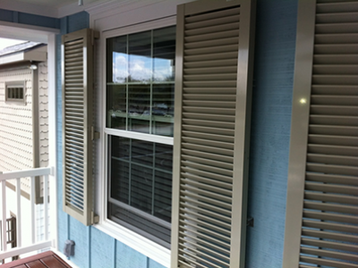 Colonial Shutters on Outer Banks