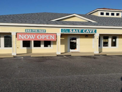 Front of building at the Outer Banks Salt Cave in Kitty Hawk, NC