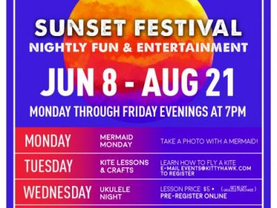 Sunset Festival at Jockey's Ridge Crossing