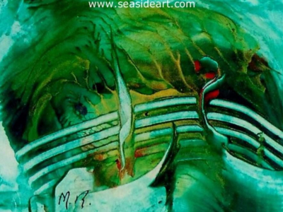 Abstract Art in the 29th Miniature Art Show