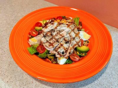 Tuna Salad at Beachcomber's Tiki Hut in Kill Devil Hills, NC