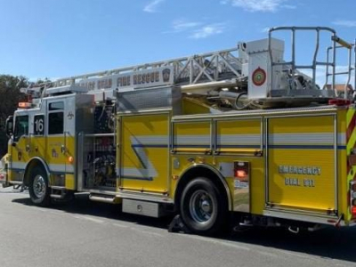 fire truck in Nags Head, NC