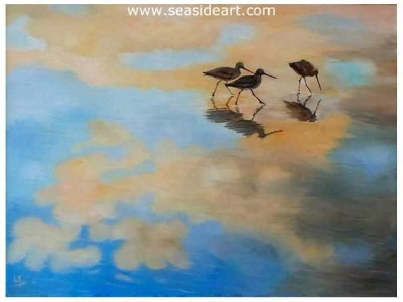 Cloud Pipers painting by Lee Mims